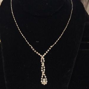 18 inch rhinestone necklace
